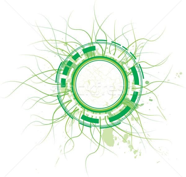 technical jade circle Stock photo © nicemonkey