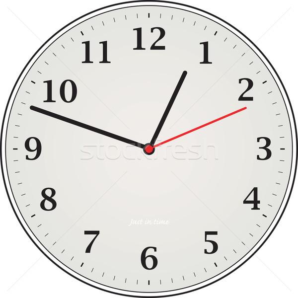 clock grey Stock photo © nicemonkey