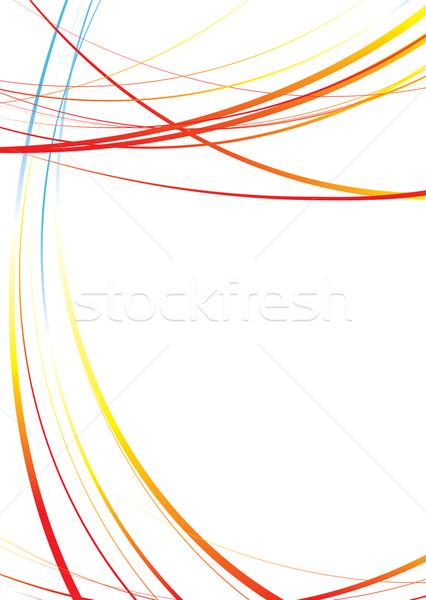 red hot fluid Stock photo © nicemonkey