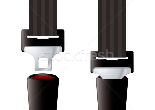 Safety seat belt Stock photo © nicemonkey