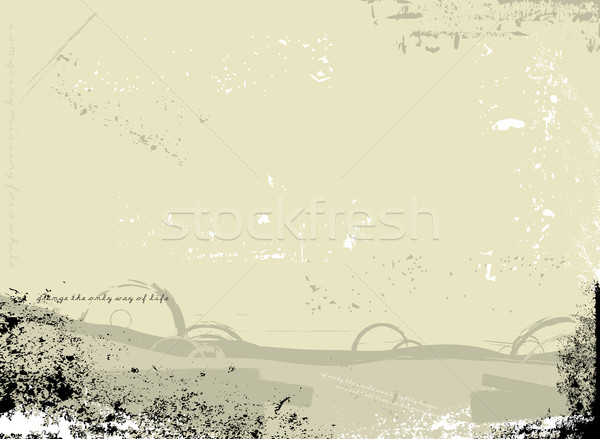 gothic dirt fawn Stock photo © nicemonkey