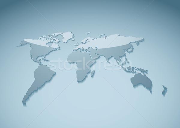 Template world background Stock photo © nicemonkey