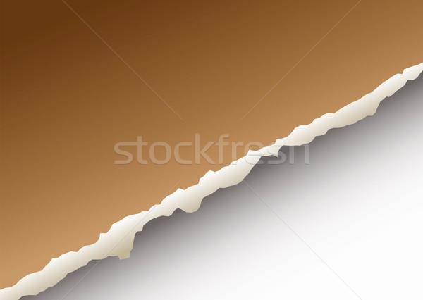 large paper rip Stock photo © nicemonkey