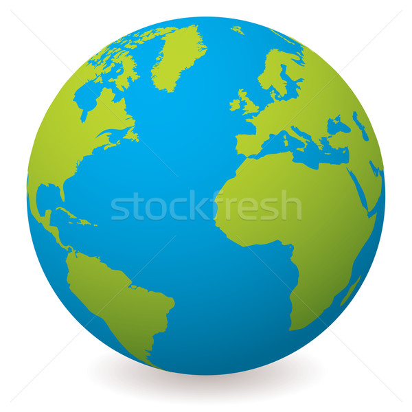 natural earth globe Stock photo © nicemonkey