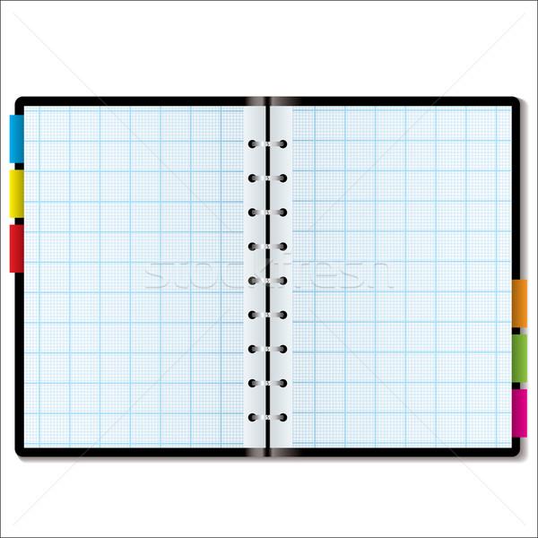 organizer graph Stock photo © nicemonkey