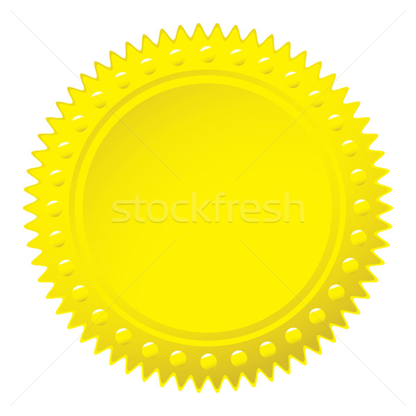 Wax gold seal Stock photo © nicemonkey