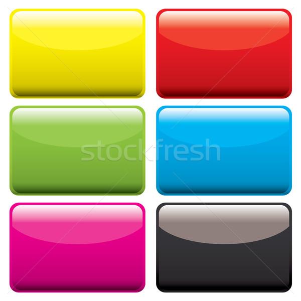 plastic oblong blank Stock photo © nicemonkey