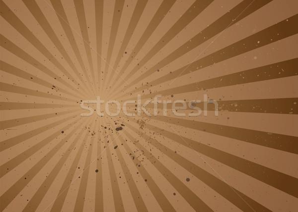 radiate brown grunge Stock photo © nicemonkey