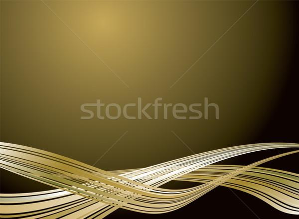 inter galatic design gold Stock photo © nicemonkey