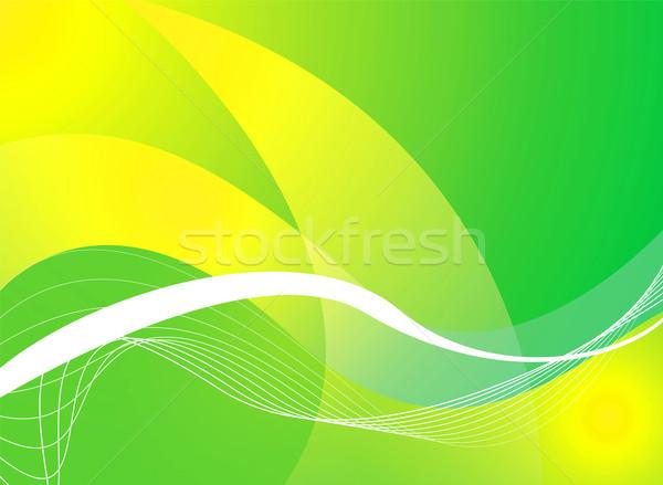 mellow green background Stock photo © nicemonkey