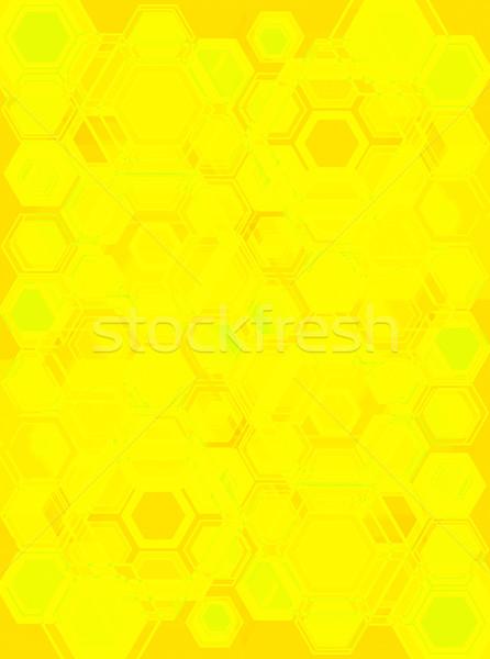 hexa gone yellow Stock photo © nicemonkey