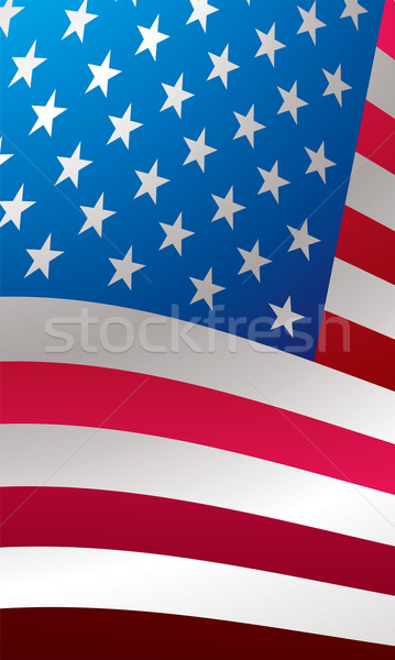 us flag close Stock photo © nicemonkey