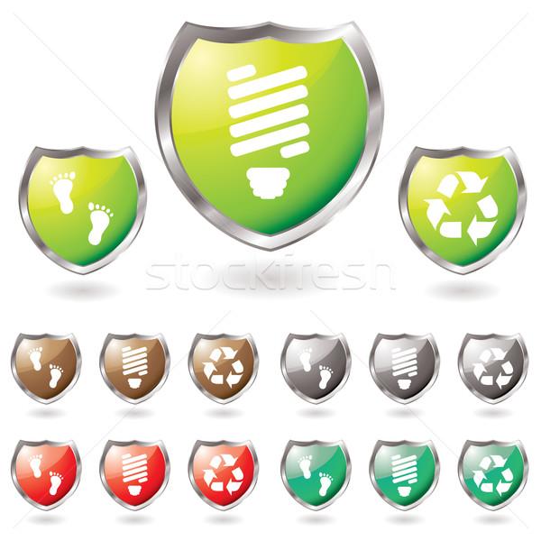 shield eco Stock photo © nicemonkey