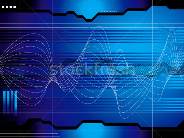 space outlook blue Stock photo © nicemonkey