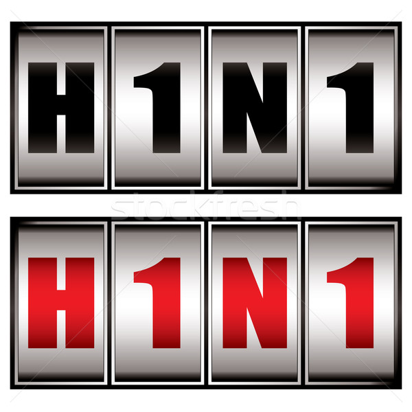 h1n1 dial Stock photo © nicemonkey