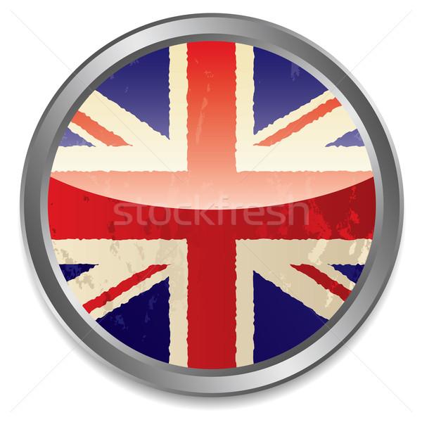 british flag icon Stock photo © nicemonkey