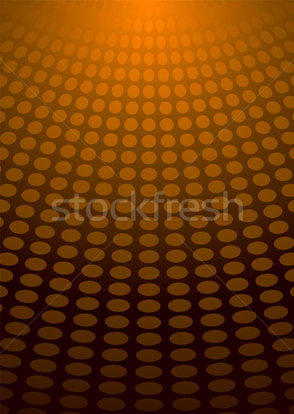 circle light orange Stock photo © nicemonkey