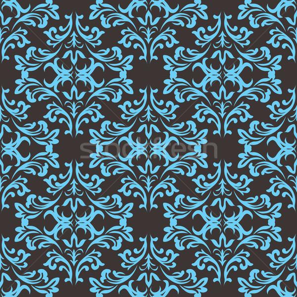 Готский повторять зеленый синий серый бесшовный Сток-фото © nicemonkey
