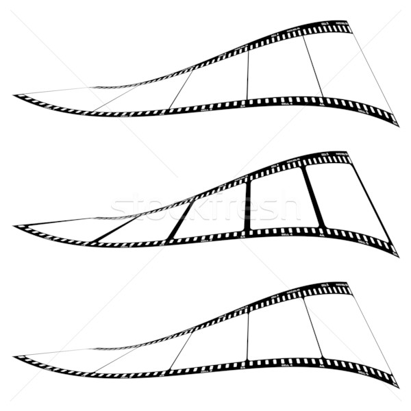photo film strip twist Stock photo © nicemonkey