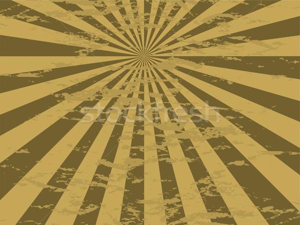 radiate mottled gold Stock photo © nicemonkey