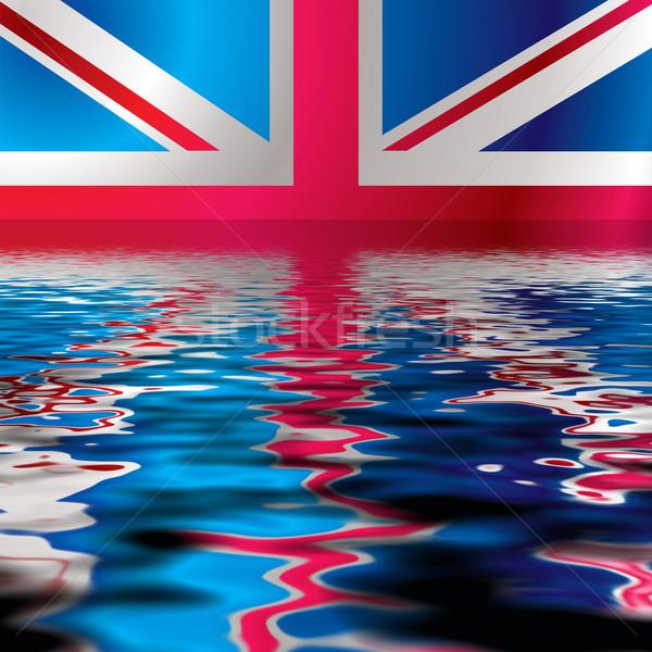 British flag reflect Stock photo © nicemonkey