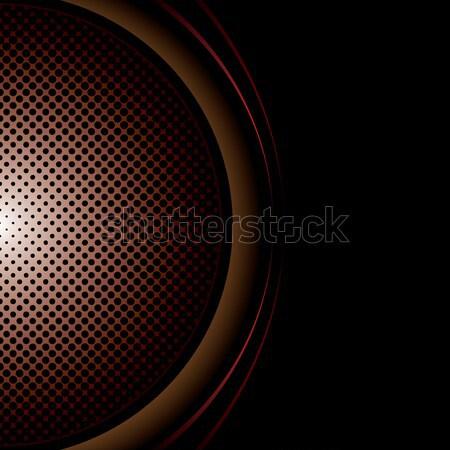 round halftone background Stock photo © nicemonkey