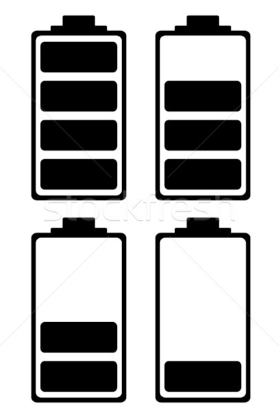 battery charge simple icon Stock photo © nicemonkey