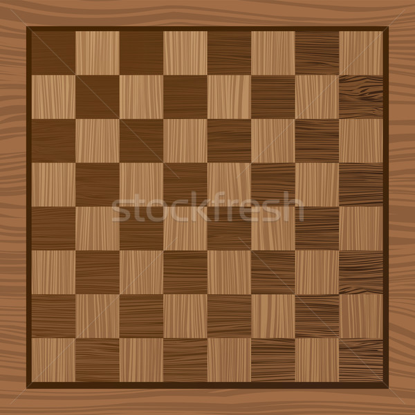 wooden chess board Stock photo © nicemonkey