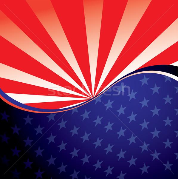 USA radiate background Stock photo © nicemonkey