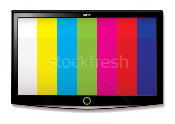 LCD TV Test screen Stock photo © nicemonkey