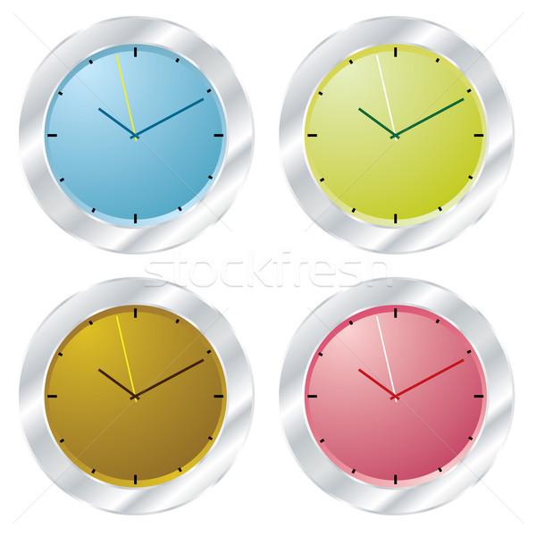 modern clock Stock photo © nicemonkey