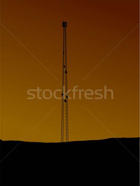 phone mast Stock photo © nicemonkey