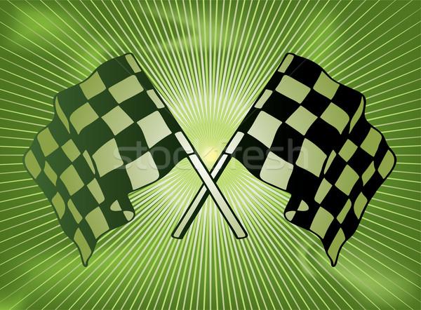 checkered past Stock photo © nicemonkey