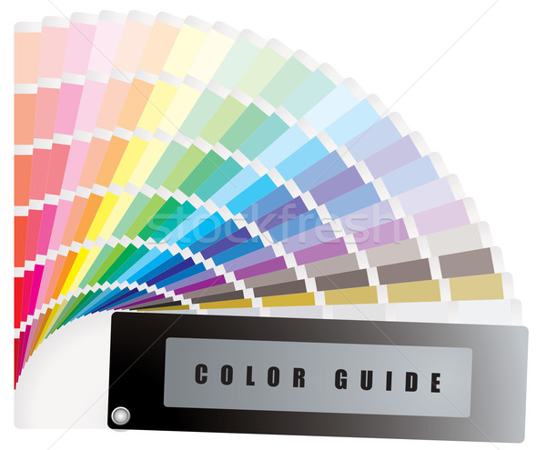 color guide Stock photo © nicemonkey