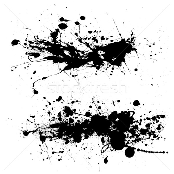 splat dribble grunge Stock photo © nicemonkey