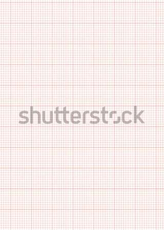 graph paper a4 sheet red Stock photo © nicemonkey