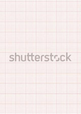 graph paper a4 sheet red vector illustration  u00a9 michael