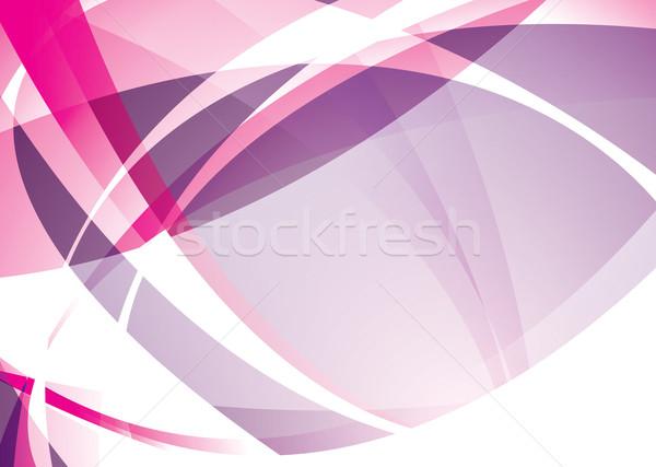 pink overlap Stock photo © nicemonkey