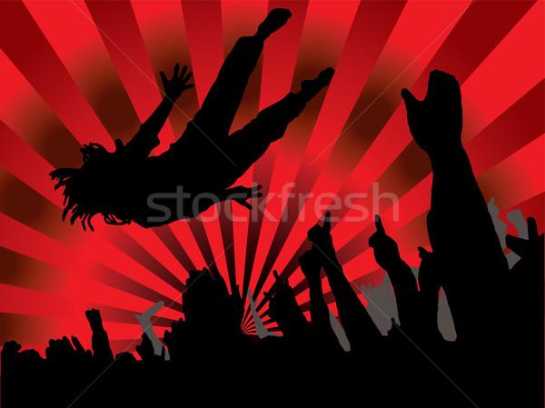 red hot concert Stock photo © nicemonkey