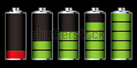 battery charge full and empty Stock photo © nicemonkey