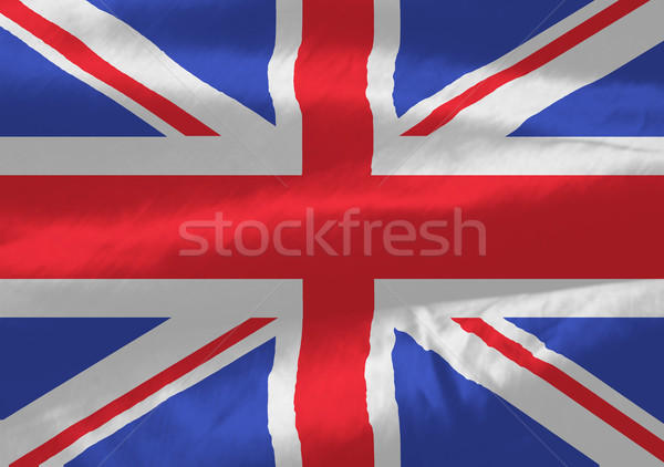 british flag flow Stock photo © nicemonkey