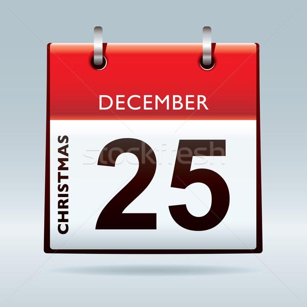 christmas day calendar Stock photo © nicemonkey