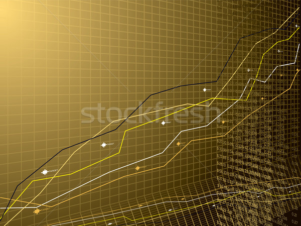 business performance gold Stock photo © nicemonkey
