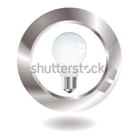 lightbulb surround Stock photo © nicemonkey