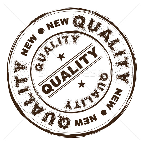 quality ink rubber stamp Stock photo © nicemonkey