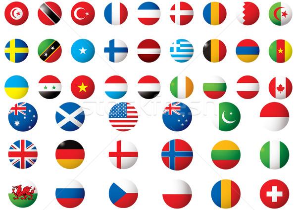 flags of the world Stock photo © nicemonkey