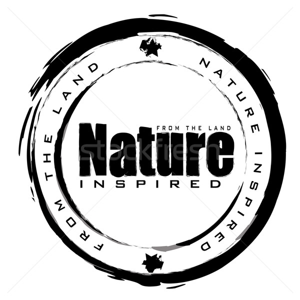 nature stamp Stock photo © nicemonkey
