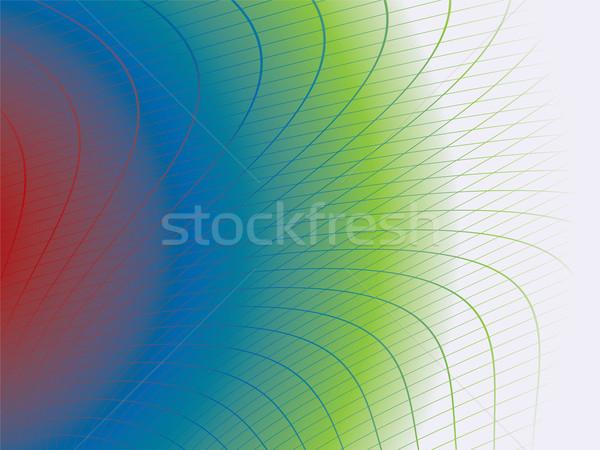 радуга веб иллюстрированный текстуры искусства пространстве Сток-фото © nicemonkey