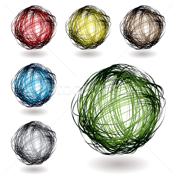 scribble color variation Stock photo © nicemonkey