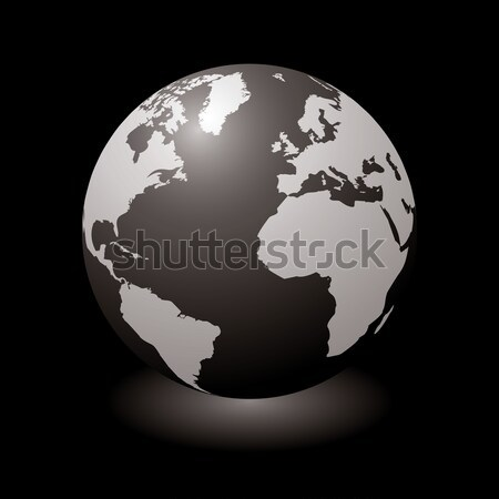 world black glow Stock photo © nicemonkey
